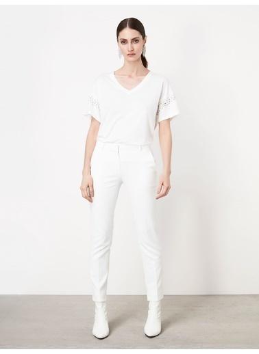 Ipekyol Tişört Beyaz